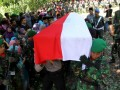 PEMAKAMAN JENAZAH ANGGOTA TNI SALAH TEMBAK