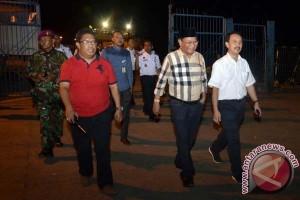Farouk tinjau arus mudik Pelabuhan Makassar