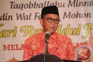 Nurdin Abdullah lepas kontingen Jambore Nasional Kwarcab Bantaeng
