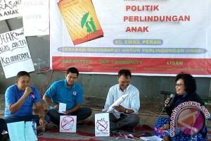 """Aksi simpatik peringati Hari Anak di """"flyover"""""""