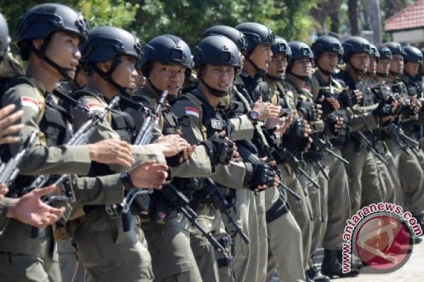Brimob Polda Sulsel Sudah Di Intan Jaya