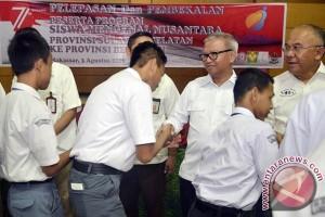 Empat BUMN berangkatkan siswa Sulsel ke Bengkulu
