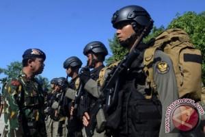 Brimob Sulbar tingkatkan pengamanan di perbatasan Sulbar