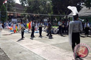 Marching band Lokanada Bantaeng ikut lomba di Bone