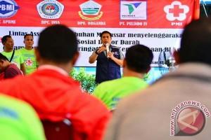 Asosiasi Pelabuhan Makassar sumbang darah ratusan kantong