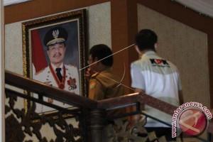 Kantor Gubernur sepi usai penggeledahan penyidik KPK