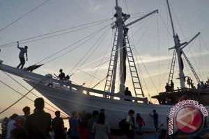 Perahu Pinisi Ditampilkan Di Festival Belgia