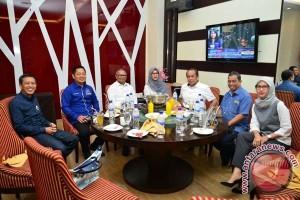 Wagub bangun komunikasi politik dengan Nasdem