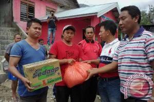 Pemkot beri 1,2 ton beras korban banjir