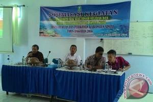 DKP Sinjai Sosialisasi sertifikasi hak atas tanah nelayan