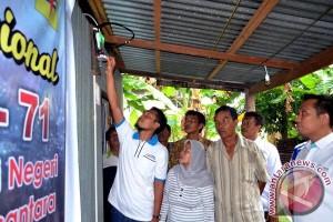 PLN nyalakan listrik 71 calon pelanggan subsidi