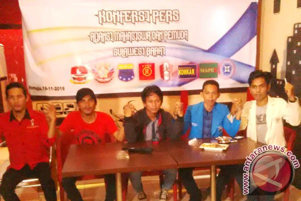 Mahasiswa Sulbar minta jaga persatuan bangsa