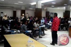 Siswa se-Makassar ikuti seminar entrepreneurship STIE Nobel