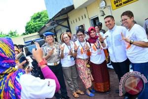 Wawali Makassar dampingi Sapac Asean kunjungi Polsek