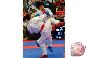 Jepang dominasi raihan emas Kejuaraan Asia Makassar