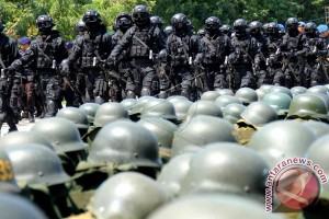 Kunjungan Presiden Jokowi dikawal 5.000 personel pengamanan