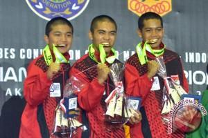 Timnas sumbang dua emas kejuaraan Asia
