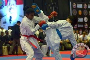 Sulsel rebut emas hari kedua kejurnas karate PPLP