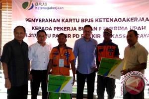 1.217 juru parkir Makassar didaftarkan BPJS Ketenagakerjaan