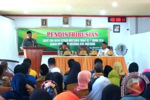 Baznas Bantaeng distribusikan zakat kepada 1.623 Mustahiq