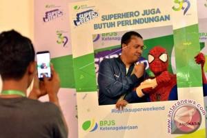 """""""Superweekend"""" BPJS Ketenagakerjaan jaring kepesertaan"""