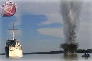 Lantamal VI akan netralisasi ranjau Perairan Makassar