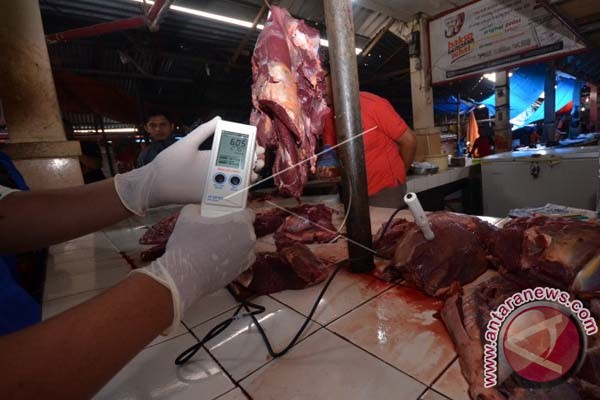 Pemkot Makassar Sidak Pasar Antisipasi Antraks