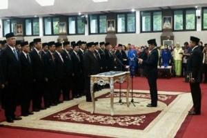 Gubernur Sulsel Lantik Pejabat OPD Baru