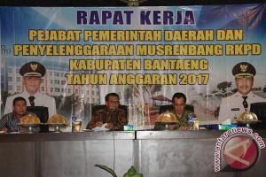 Bupati Bantaeng Pimpin Raker Pejabat Pemerintah Daerah