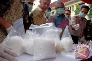 BNN Sulsel musnahkan enam kilogram narkoba
