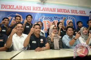 Relawan Muda Dukung Rusdi Masse Maju Pilgub