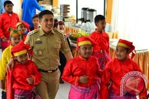 Danlantamal-Wawali Makassar Tanamkan Nilai Kebaharian Siswa