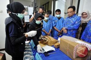 BNNP Sulsel Musnahkan Narkoba Pakai Mobil Insinerator