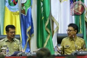 Syahrul Narasumber Pembekalan Pejabat Kemendagri
