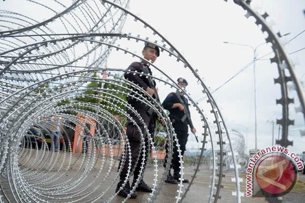 Polisi Jaga Ketat KPU Takalar Usai Penghitungan