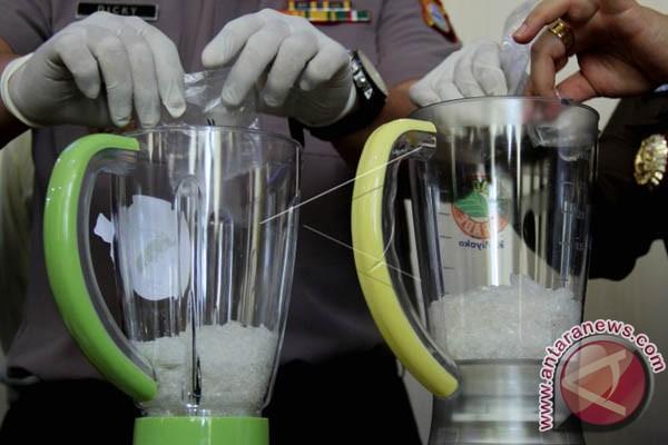 Polda Sulsel Musnahkan Sabu-Sabu Senilai Rp3 Miliar