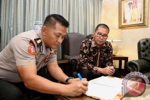 Pemkot Makassar-Polda Sulsel MoU Penanganan Kamtibmas