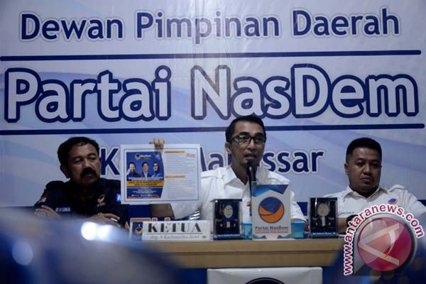 Nasdem Makassar Buka Pendaftaran Bacaleg