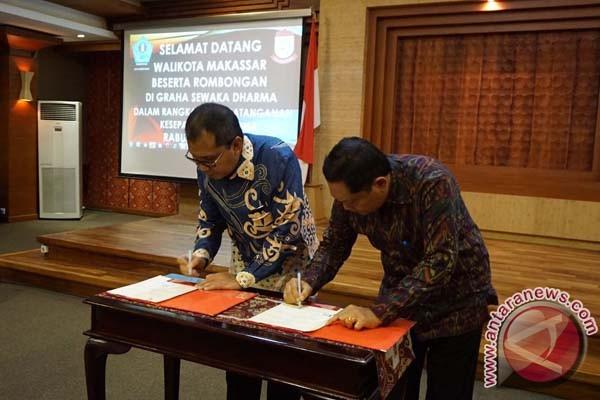 Makassar-Denpasar MoU Jaringan Lintas Perkotaan