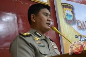 Polisi Terlibat Pengiriman Lima Kg Sabu-Sabu