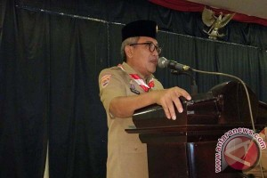 Wabup Hadiri Rakor Gerakan Pramuka Bantaeng