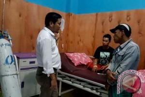 Legislator Sulsel Kunjungi Korban Ledakan SPBU Maros