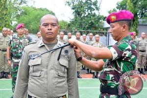 Marinir Lantamal Latih Satpol PP Selayar