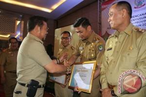 Gowa Raih Penghargaan Penyusunan Perencanaan Pembangunannya Di Sulsel