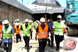 "Terowongan ""underpass"" Simpang Lima Mandai Berhasil Tembus"