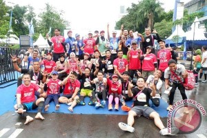 Wali Kota Makassar Ikut Bosowa Half Marathon