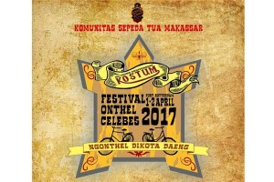 Komunitas Sepeda Tua Makassar Akan Gelar Festival