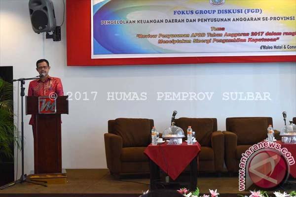 Pemprov Sulbar Tingkatkan Kualitas Pengelolaan Keuangan Daerah