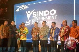 Pembangunan Infrastruktur Antar Gubernur Sulsel Raih Penghargaan