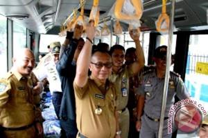 Mamuju Terima Bantuan Bus Kota Dari Kemenhub